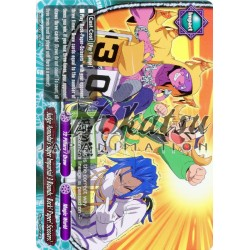 BFE Foil H-EB01/0019EN Judge Asmodai's Super Impartial 3 Rounds, Rock! Paper! Scissors!