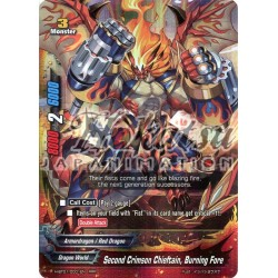 BFE H-BT01/0001EN Second Crimson Chieftain, Burning Fore