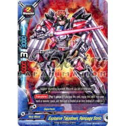 BFE H-BT01/0035EN Explosive Takedown, Rampage Sonic