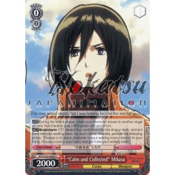 AOT/S35-E064 Calm and Collected Mikasa