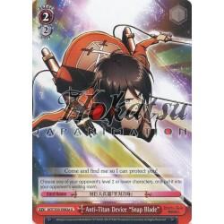 """AOT/S35-E082a Anti-Titan Device """"Snap Blade"""""""
