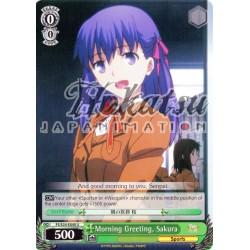 FS/S34-E040 Morning Greeting, Sakura