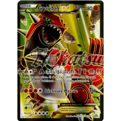 PKM 150/160 Groudon-EX