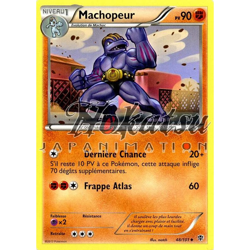 Purchase PKM 048/101 Machoke - NB10 Plasma Blast | Pokemon Hokatsu