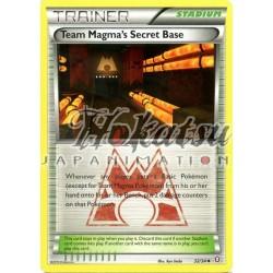 PKM 032/34 Team Magma's Secret Base