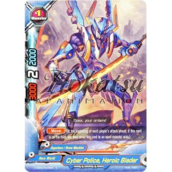 BFE H-EB02/0044EN Cyber Police, Heroic Blader