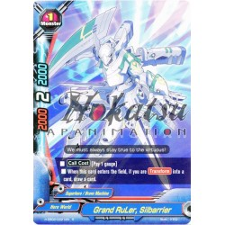 BFE Foil H-EB02/0021EN Grand RuLer, Silbarrier