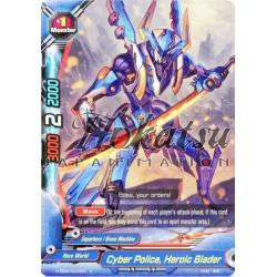 BFE Foil H-EB02/0044EN Cyber Police, Heroic Blader