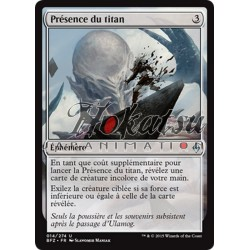 MTG 014/274 Titan's Presence
