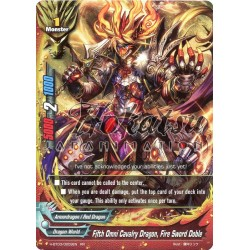 BFE H-BT03/0009EN Fifth Omni Cavalry Dragon, Fire Sword Doble