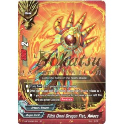 BFE H-BT03/0011EN Fifth Omni Dragon Fist, Ablaze