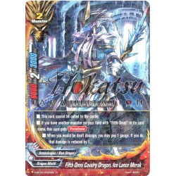 BFE H-BT03/0022EN Fifth Omni Cavalry Dragon, Ice Lance Merak