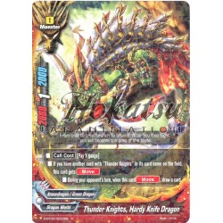 BFE H-BT03/0023EN Thunder Knights, Hardy Knife Dragon