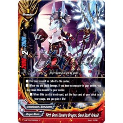 BFE H-BT03/0085EN Fifth Omni Cavalry Dragon, Sand Staff Arkaid
