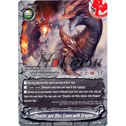 BFE H-BT03/0108EN Disaster and Bliss Comes with Dragons