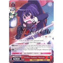 LH/SE20-E06 Dislikes Fashion? Akatsuki