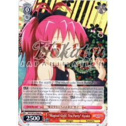 """MM/W35-E064 """"Magical Girls' Tea Party"""" Kyoko"""