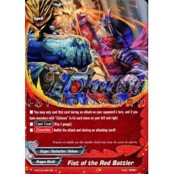 BFE H-BT02/0051EN Fist of the Red Battler