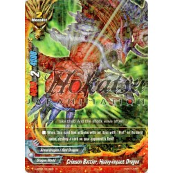 BFE H-BT02/0116EN Crimson Battler, Heavy-impact Dragon