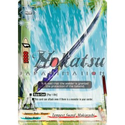 BFE H-BT02/0118EN Tempest Sword, Makiarashi
