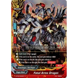 BFE Foil F-H-BT02/0022EN Fatal Arms Dragon