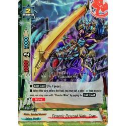 BFE Foil F-H-BT02/0032EN Demonic Descend Ninja, Zeon