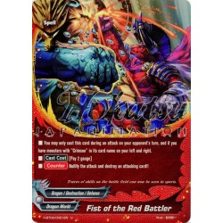 BFE Foil F-H-BT02/0051EN Fist of the Red Battler