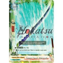 BFE Foil F-H-BT02/0118EN Tempest Sword, Makiarashi