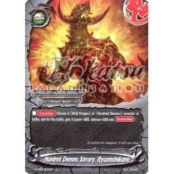 BFE Foil F-H-EB03/0046EN Hundred Demons Sorcery, Ryuzenshakuma