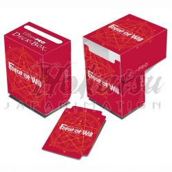 UP - Full View Deck Box - Force of Will - Red Card Back