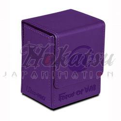 UP - Deck Box Flip - Force of Will - Dark Magic Stone