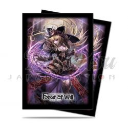UP - Sleeves Standard - Force of Will - A2: Dark Faria (65 Sleeves)