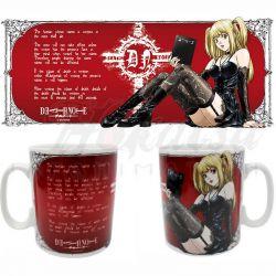 DEATH NOTE Mug Death Note Misa