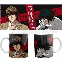 DEATH NOTE Mug Death Note L et Light