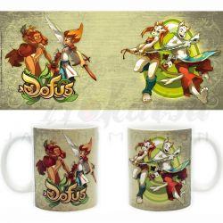 DOFUS Mug Dofus Iop et Ecaflip