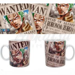 ONE PIECE Mug One Piece Zoro Wanted