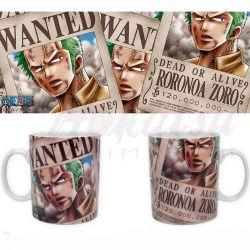 ONE PIECE Mug One Piece Zoro Wanted