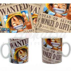 ONE PIECE Mug One Piece Luffy Wanted