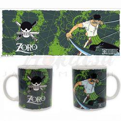 ONE PIECE Mug One Piece Zoro and Emblem