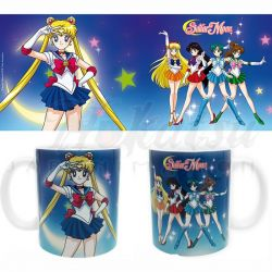 SAILOR MOON Mug Sailor Moon Guerrières