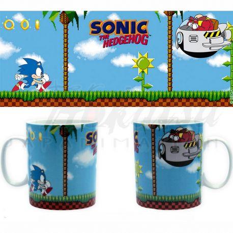 SONIC Mug Sonic Green Hills Level