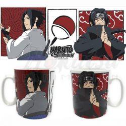 NARUTO SHIPPUDEN Mug Itachi et Sasuke