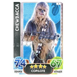 REBELLES-Alliance Force Attax Movie 4-4-Chewbacca-Co-Pilote