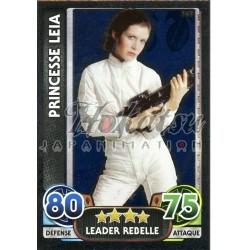 162/230 Carte brillante : Princesse Leia