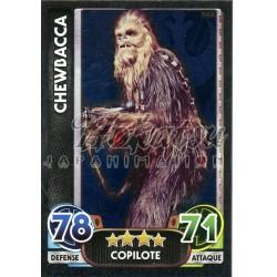 164/230 Carte brillante : Chewbacca