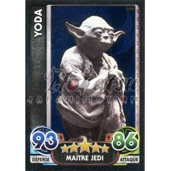 166/230 Carte brillante : Yoda