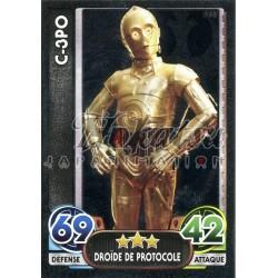 168/230 Carte brillante : C-3PO