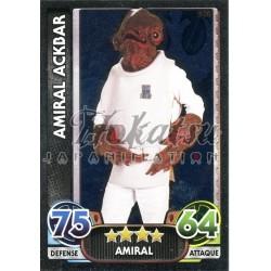 170/230 Carte brillante : Amiral Ackbar