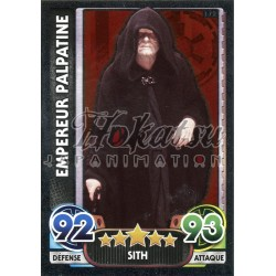 172/230 Carte brillante : Empereur Palpatine