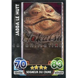 176/230 Carte brillante : Jabba Le Hutt